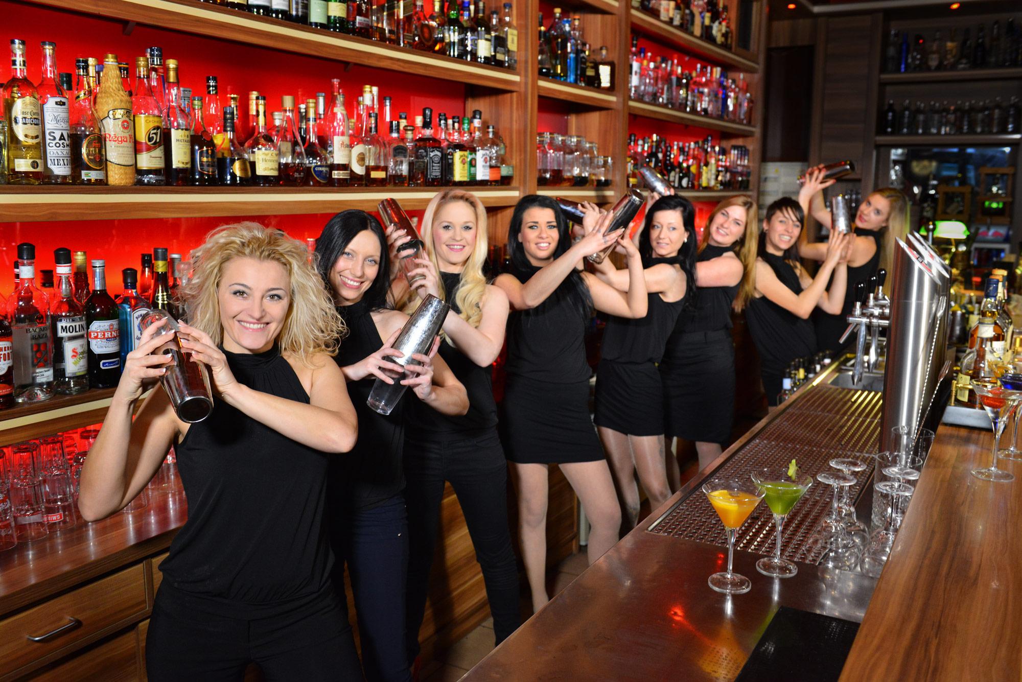 Shaker Girls – Barkeeperinnen und Barservice