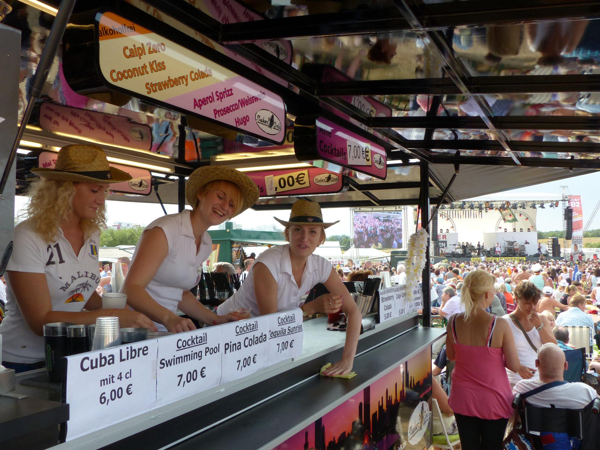 Shaker Girls – Public Events, Stadtfeste und Festivals